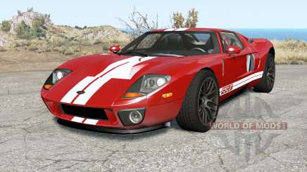 Ford GT 2005 v3.0 pour BeamNG Drive