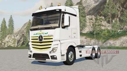 Mercedes-Benz Actros (MP4) 2013 für Farming Simulator 2017