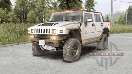 Hummer H2 SUT 2006 pour Spin Tires