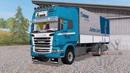 Scania R730 4x4 rigid Topline Cab pour Farming Simulator 2017