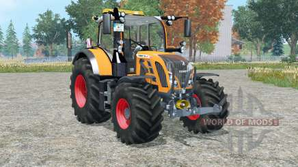 Fendt 718 Vario orange edition für Farming Simulator 2015