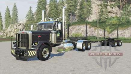 Peterbilt 389 logging truck für Farming Simulator 2017