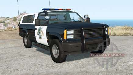 Gavril D-Series California Highway Patrol v1.7 pour BeamNG Drive