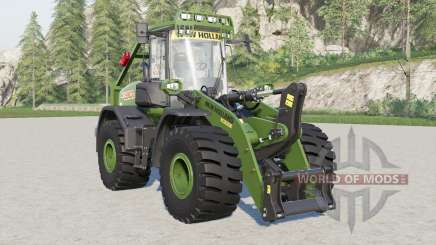 New Holland W190D with forestry cage für Farming Simulator 2017