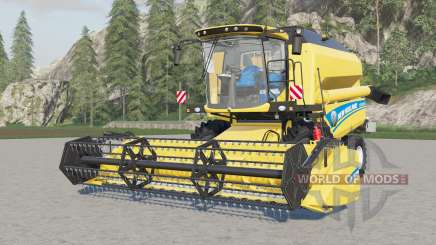 New Holland TC5.90 with some config pour Farming Simulator 2017