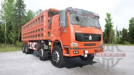 Howo 8x8 dump truck 2008 für MudRunner