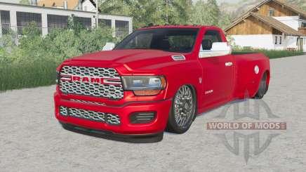 Ram 3500 Regular Cab Dually (D2) Hell Truck pour Farming Simulator 2017