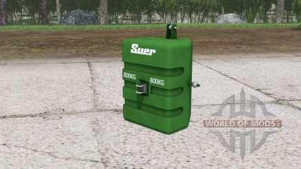 SuerGewicht ৪00 kg. für Farming Simulator 2015