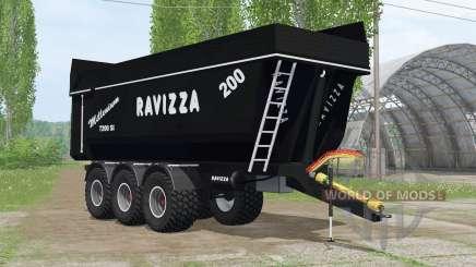Ravizza Millenium 7200 ꞨI für Farming Simulator 2015