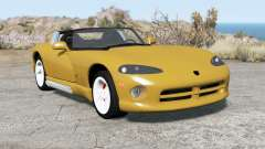 Dodge Viper RT-10 1992 pour BeamNG Drive