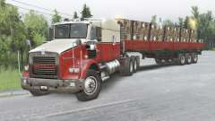 Kenworth T800 8x8 Chassis Cab pour Spin Tires