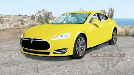 Tesla Model S 2012 pour BeamNG Drive