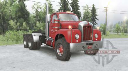 Mack B61 6x6 tractor truck pour Spin Tires