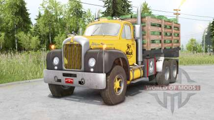 Mack B61 6x6 Chassis Cab für Spin Tires