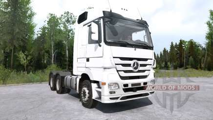 Mercedes-Benz Actros (MP3) pour MudRunner