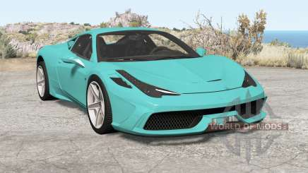 Ferrari 458 Speciale 2014 pour BeamNG Drive