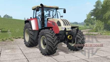 Steyr 6140 & 6195 CVT für Farming Simulator 2017