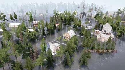 Überflutetes Dorf für MudRunner