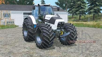 Deutz-Fahr 7250 TTV Agrotron halogen lights pour Farming Simulator 2015