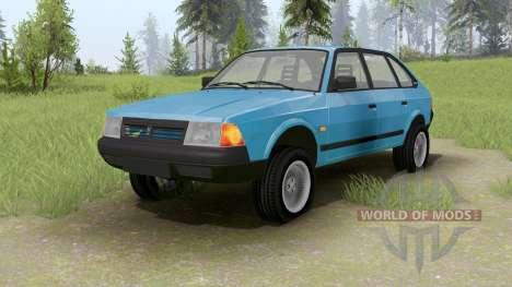Moskauer 2141 für Spin Tires