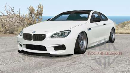 BMW M6 coupe (F13) 2013 pour BeamNG Drive