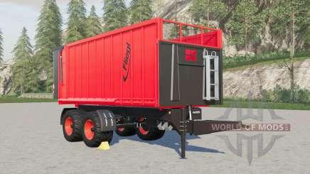 Fliegl TMK 266 Bull capacity selection für Farming Simulator 2017