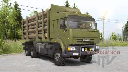 Kamaz-6522ⴝ pour Spin Tires
