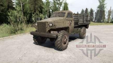 Gaz-63 en 1943 pour MudRunner