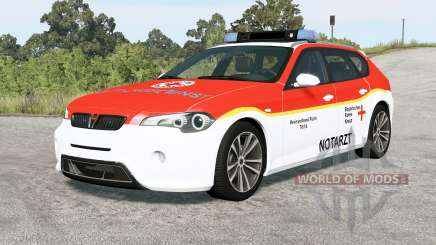 ETK 800-Series German Emergency v2.0 pour BeamNG Drive