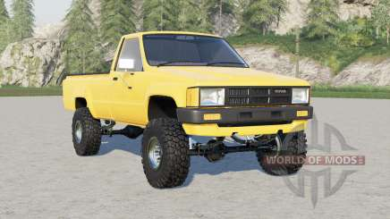 Toyota Hilux Single Cab 4WD 1983 für Farming Simulator 2017