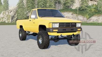 Toyota Hilux Single Cab 4WD 1983 pour Farming Simulator 2017