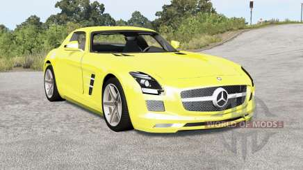 Mercedes-Benz SLS 63 AMG (C197) 2010 pour BeamNG Drive