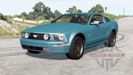 Ford Mustang GT 2005 v2.0 pour BeamNG Drive