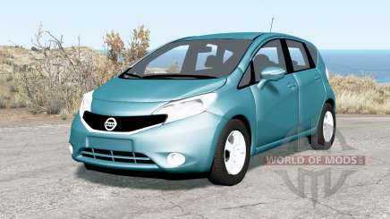Nissan Note (E12) 2013 pour BeamNG Drive