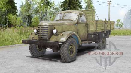 FAW Jiefang CA10 1956 pour Spin Tires