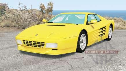 Ferrari 512 TR 19୨1 für BeamNG Drive