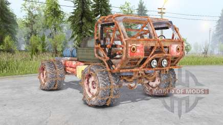Mongo Heist Truck pour Spin Tires
