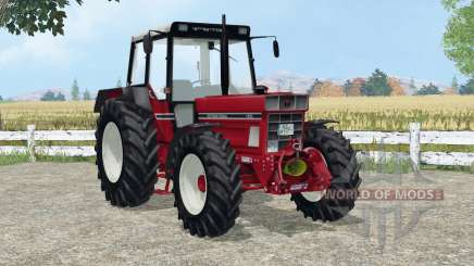 International 1455 A added wheels für Farming Simulator 2015