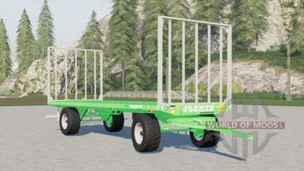 Joskin Wago TR৪000 für Farming Simulator 2017