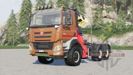 Tatra Phoenix T158 Forestry Semi-trailer 2015 für Farming Simulator 2017