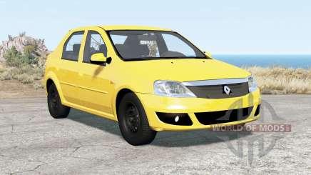 Renault Logan 2010 für BeamNG Drive