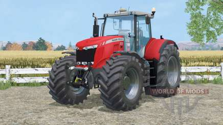 Massey Ferguson 8737 cab suspention für Farming Simulator 2015