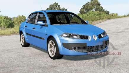 Renault Megane sedan 2006 für BeamNG Drive