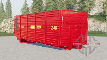 Schuitemaker Siwa 240 hooklift container pour Farming Simulator 2017