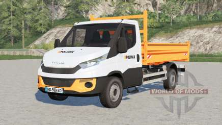 Iveco Daily Chassis Cab Polimix pour Farming Simulator 2017