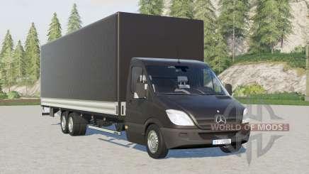 Mercedes-Benz Sprinter 6x6 pritschenwagen lonɠ pour Farming Simulator 2017