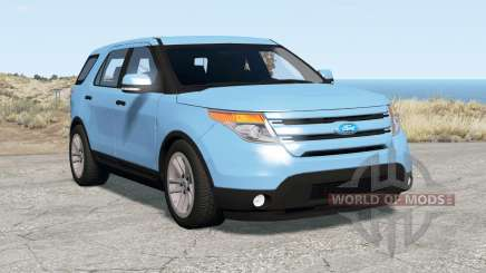 Ford Explorer Limited (U502) 2011 pour BeamNG Drive