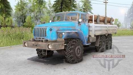 Ural 4320-10〡Ladungen für Spin Tires
