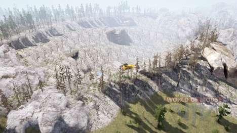 Montagnes d〡est compliquée pour Spintires MudRunner