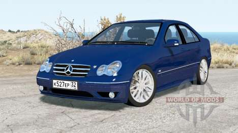 Mercedes-Benz C 320 (W203) 2004 v3.0 pour BeamNG Drive